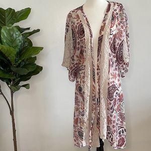 AE Paisley Kimono